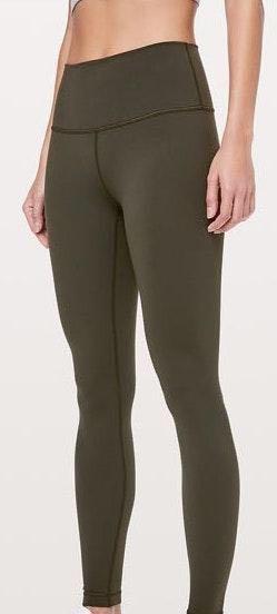 Lululemon Olive Green Leggings
