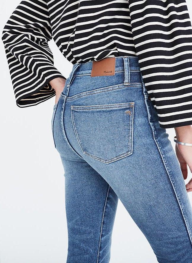 Madewell High Riser High Waisted Skinny Jean