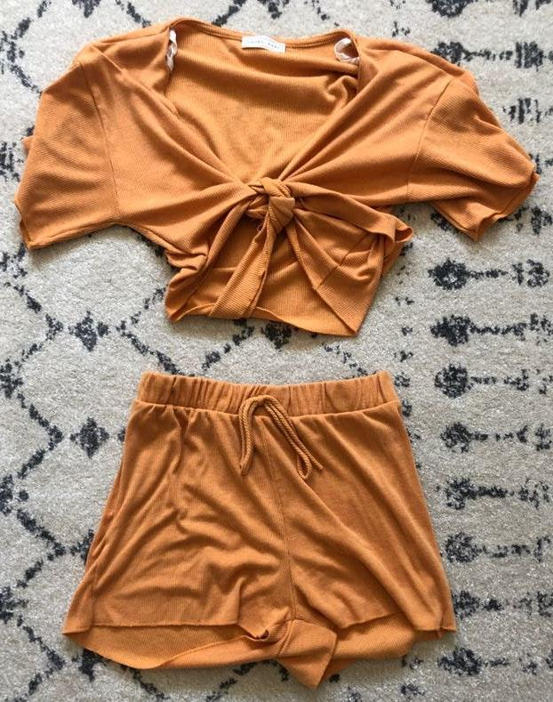 Emory park Mustard Two Piece Set