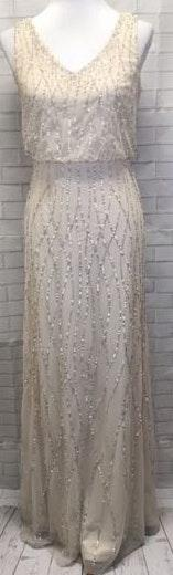 Adrianna Papell Sequins Gown