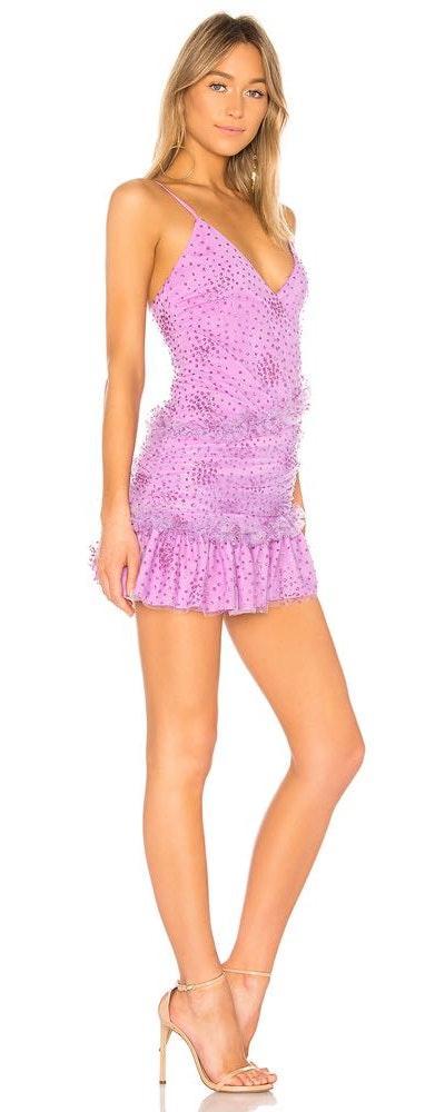 NBD Glitter Mini Dress
