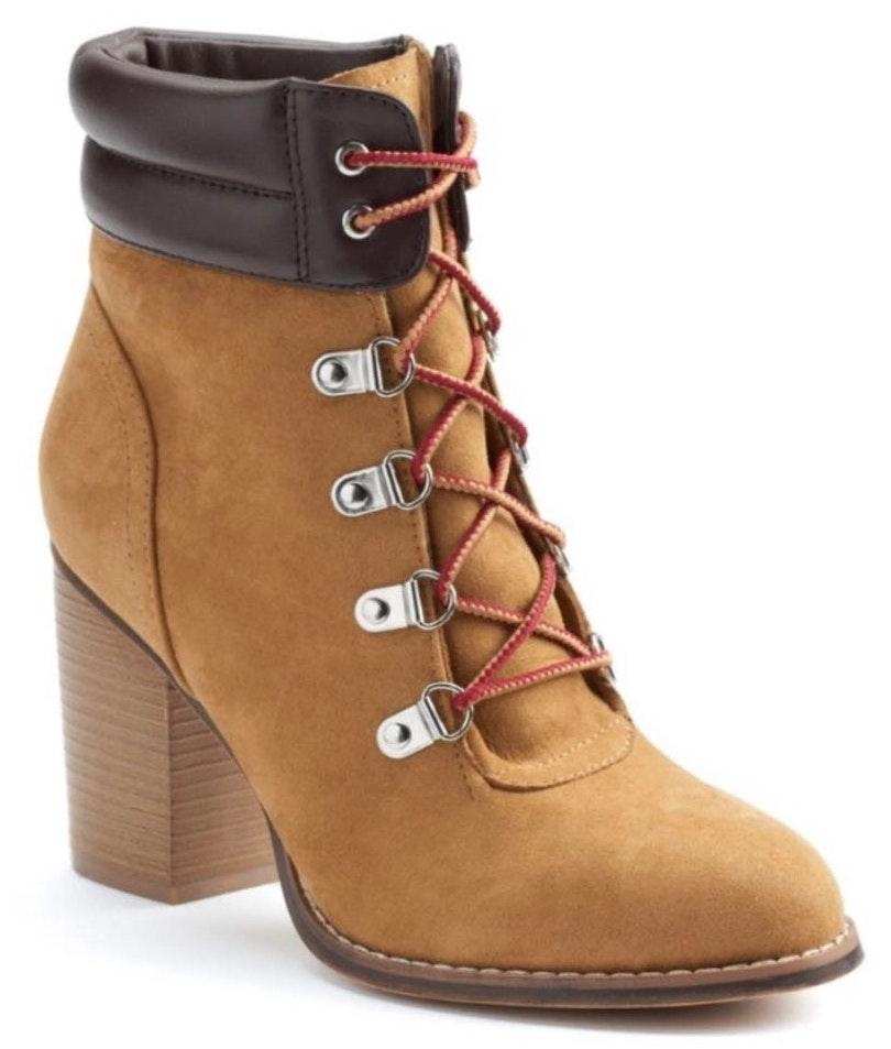 Candie's Candie's Women's High Heel Ankle Boots-9.5