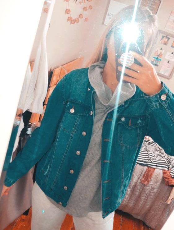 curve appeal Jean jacket