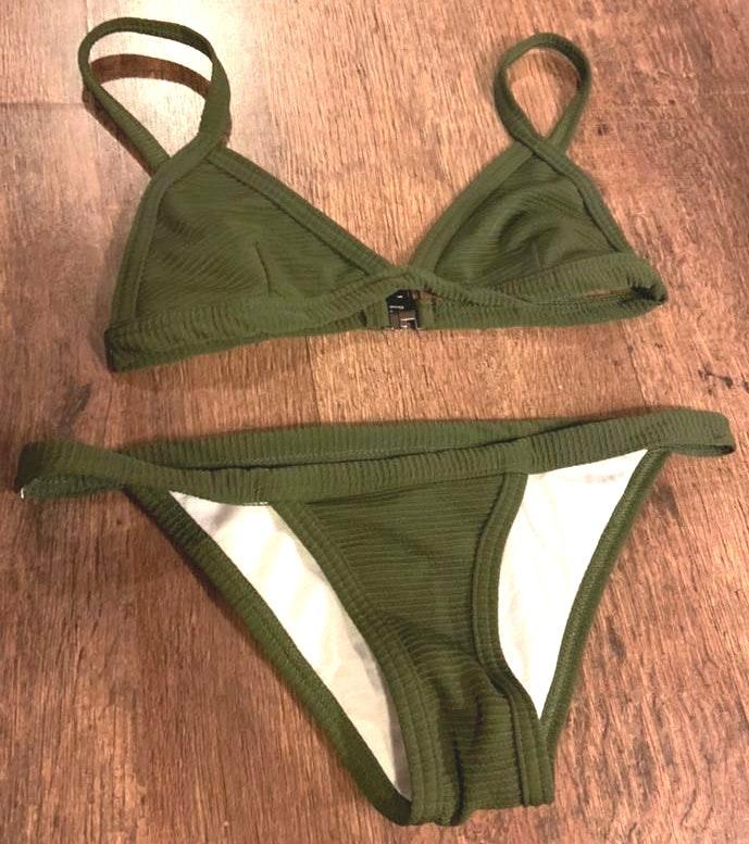 Amazon Dark Green Bikini