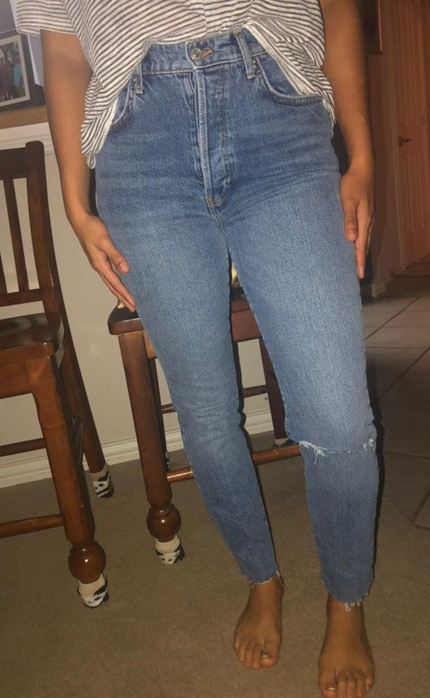 Free People Jeans Highwaisted