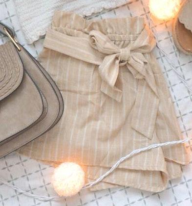 Pitaya Sunny Tie Shorts