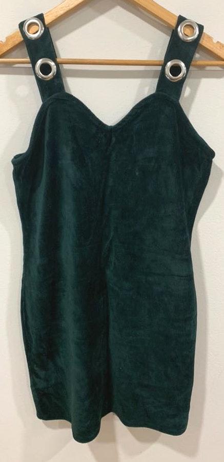 Wild Fable Green Corduroy Mini Dress