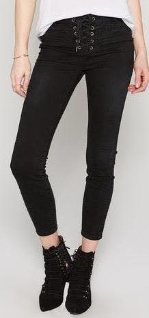 Amuse Society Black Skinny Jeans