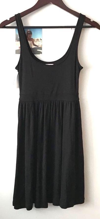 Aritzia NWT Sunday Best Black Tank Dress