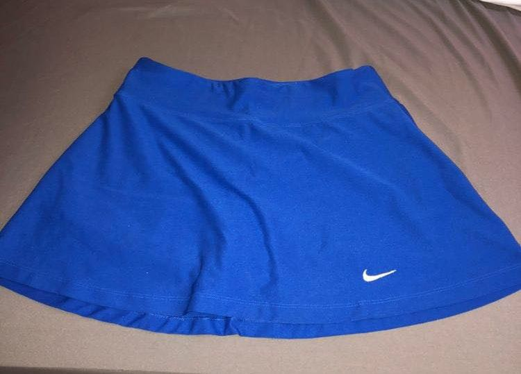 Nike Blue Tennis Skirt