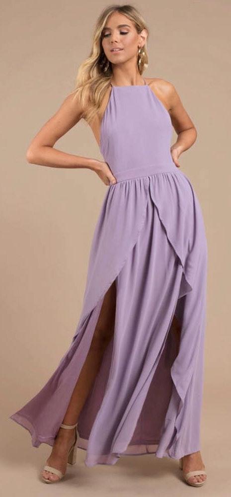 Tobi Lavender Formal Dress