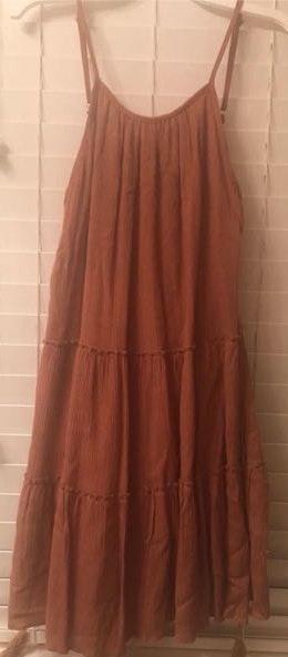 American Threads Burnt Orange Dress