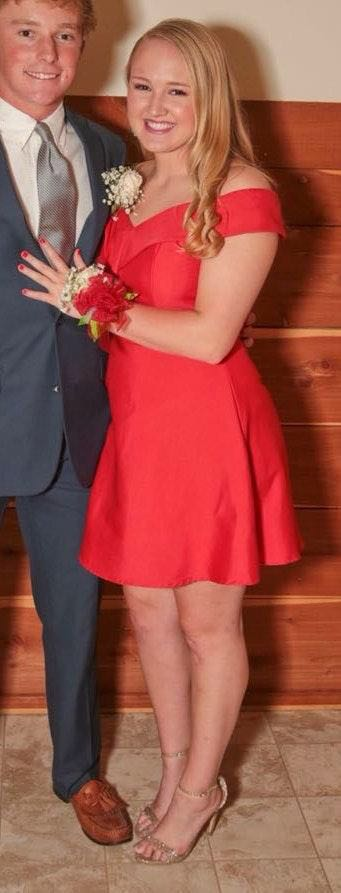 DO+BE Little Red Dress