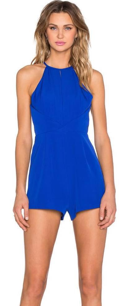 Finders Keepers Blue Romper
