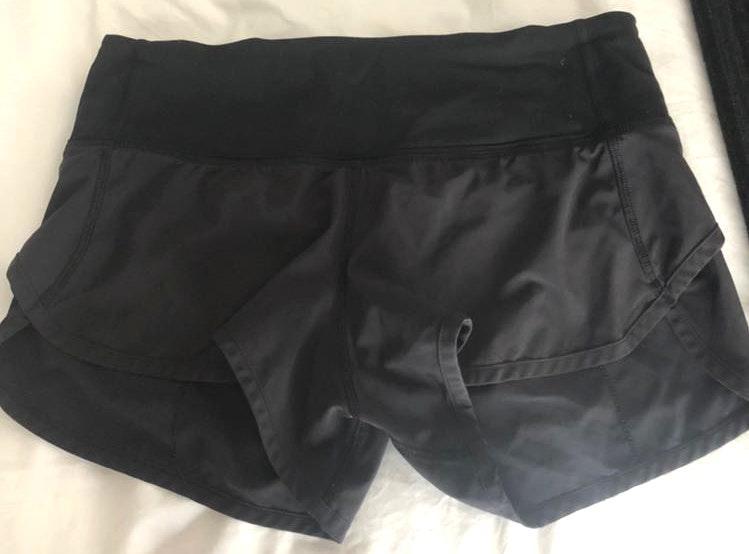 Lululemon Speed Short Black