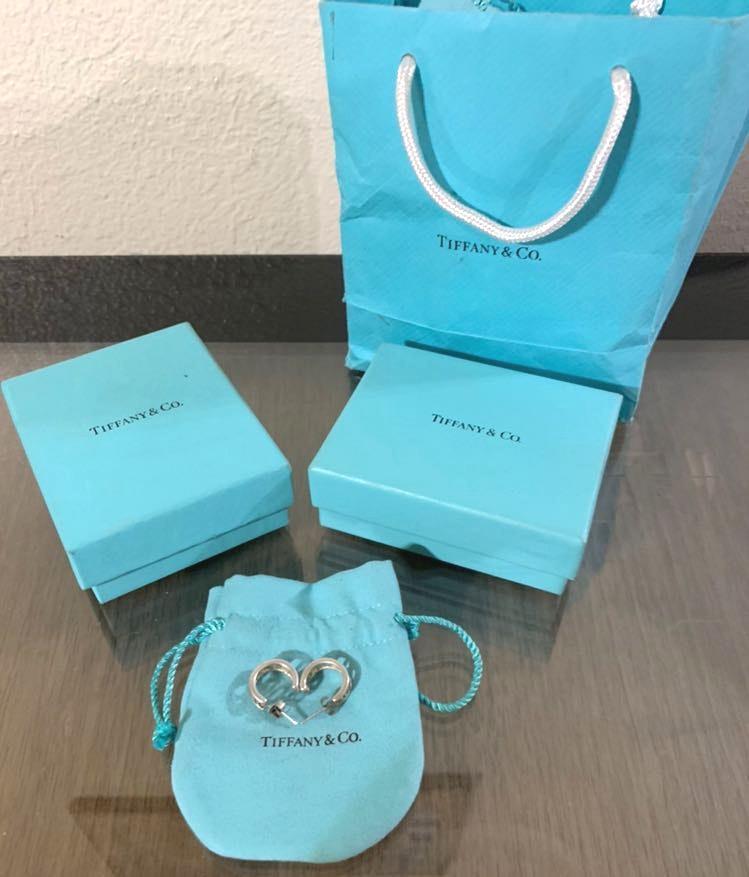 Tiffany & Co. Tiffany & Co Silver Atlas  Earrings