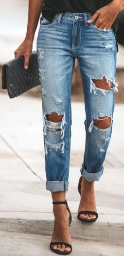 VICI Boyfriend Jeans