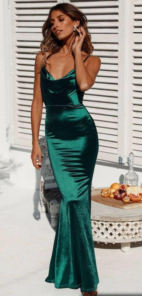 Hello Molly TEST OF TIME MAXI DRESS GREEN