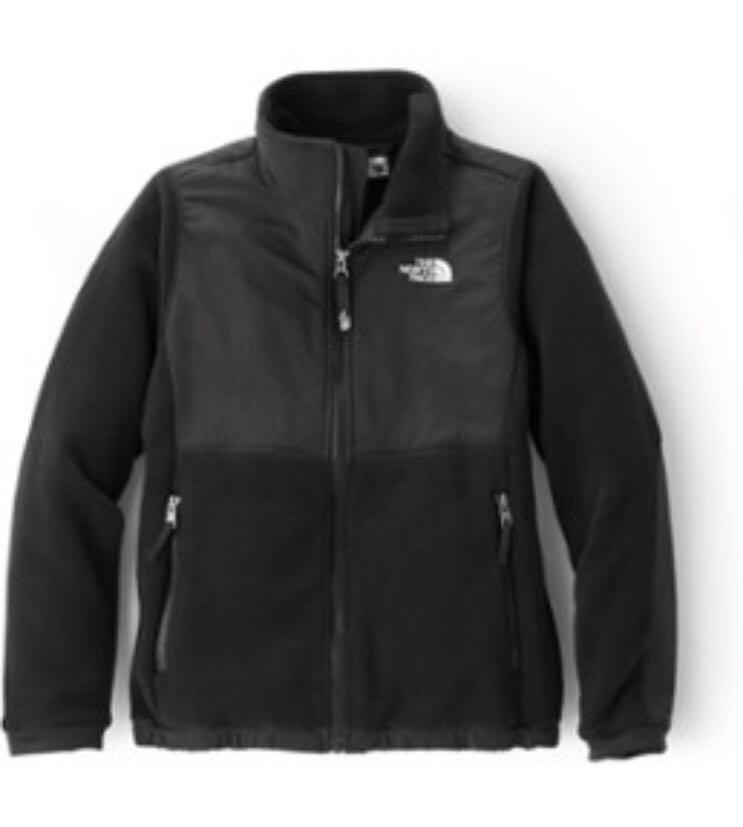 The North Face Womens Fleece Black Jacket