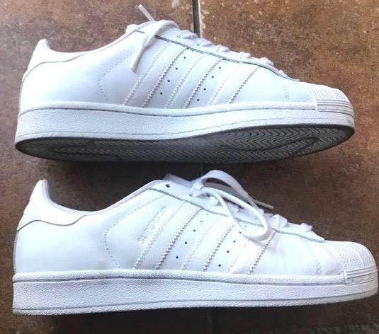 Adidas White Superstars