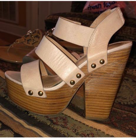 ALDO Chunky Platform Heels