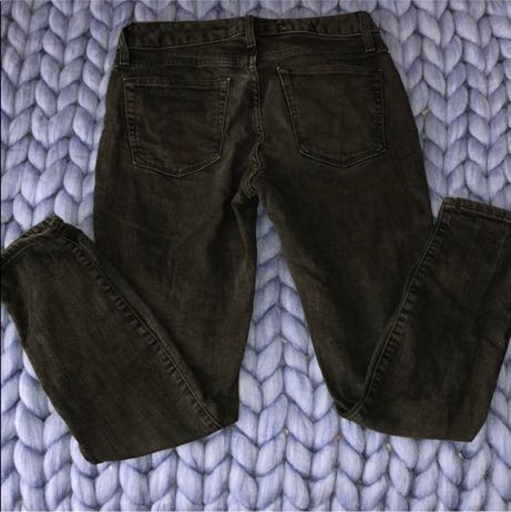 Gap Faded Black Jeans, Curvy Skinny