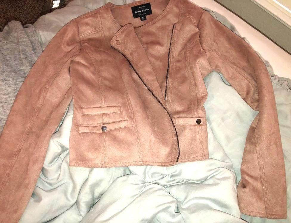 Nordstrom Rack Blush Pink Color Jacket