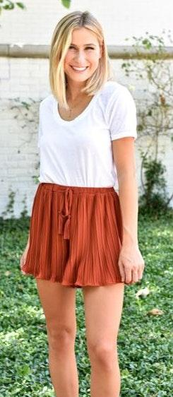 Impeccable Pig Pleated Shorts