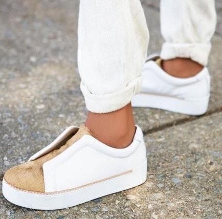 Free People Used  Mage Fashion Sneaker
