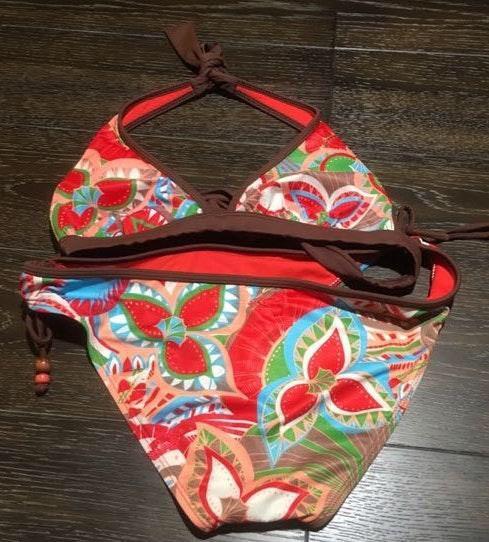 O'Neill Floral Tropical Halter Bikini