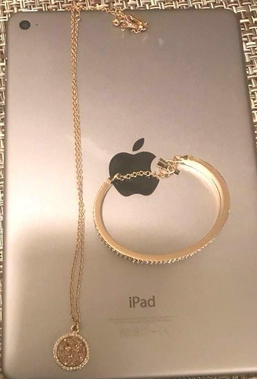 Kate Spade Necklace And Bracelet Set