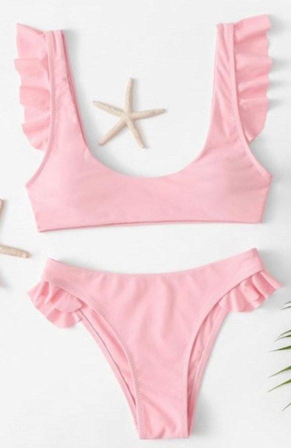Pink Bikini Bottoms