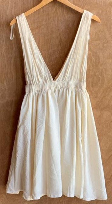 Showpo Cream Princess Babydoll Dress