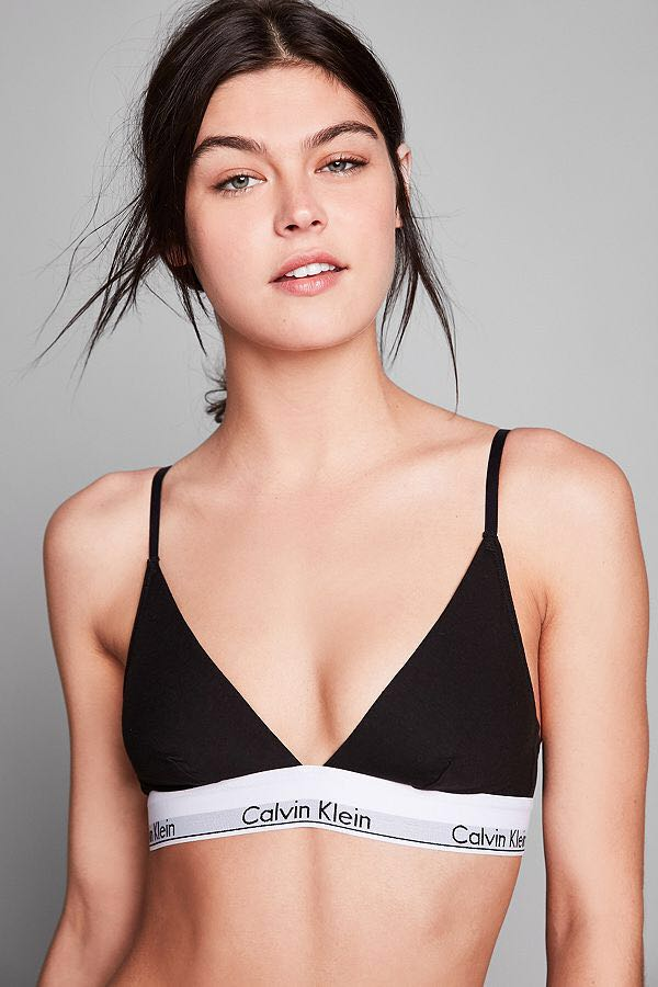 Calvin Klein Triangle Bralette/ Top