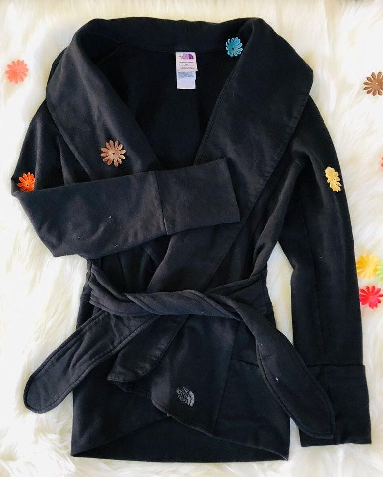 The North Face Black Cardigan Jacket S