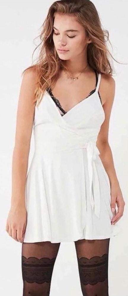 Urban Outfitters kimchi blue white romper