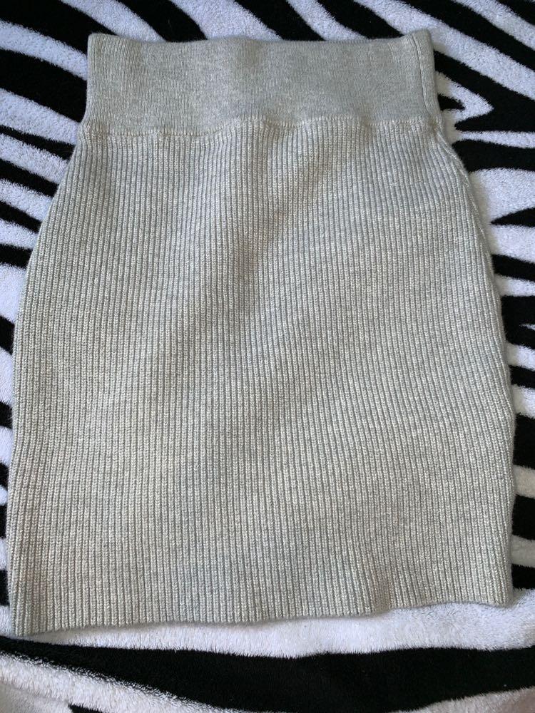 Kendall & Kylie grey Mini Skirt