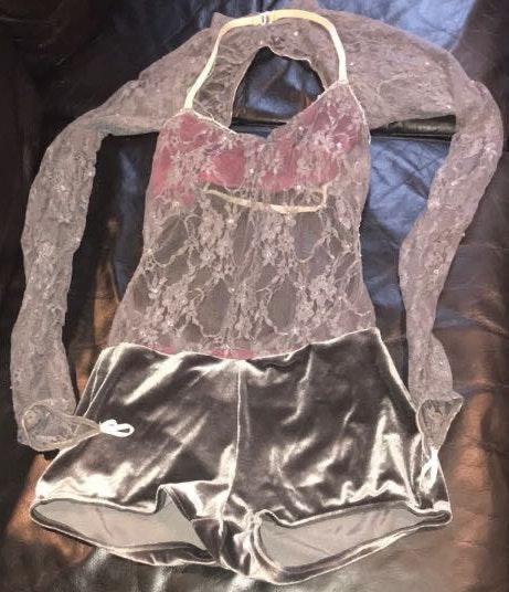 Lace&Velvet Sexy Halloween Costume