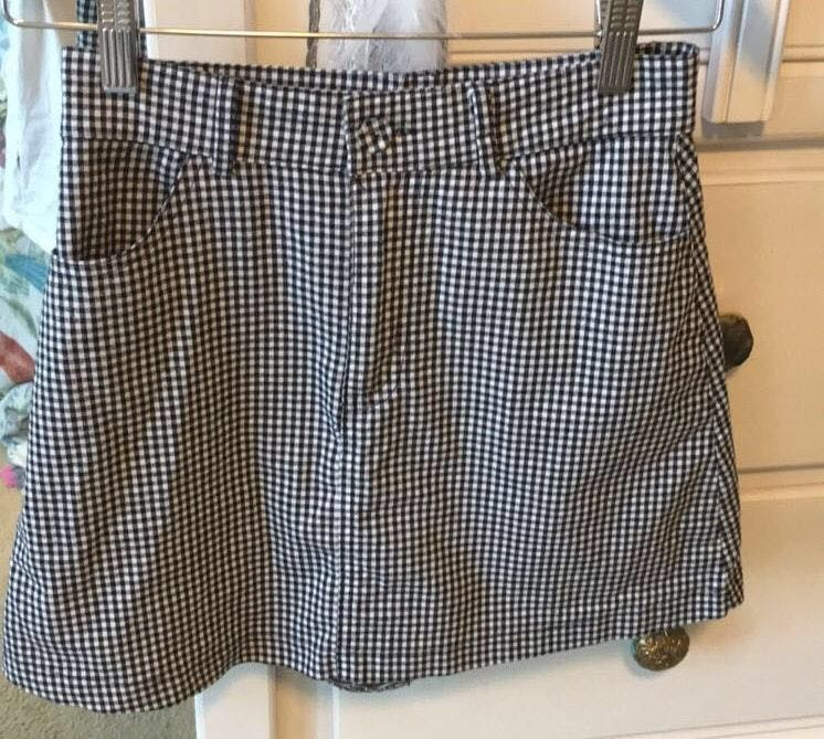 Brandy Melville Checkered Skirt