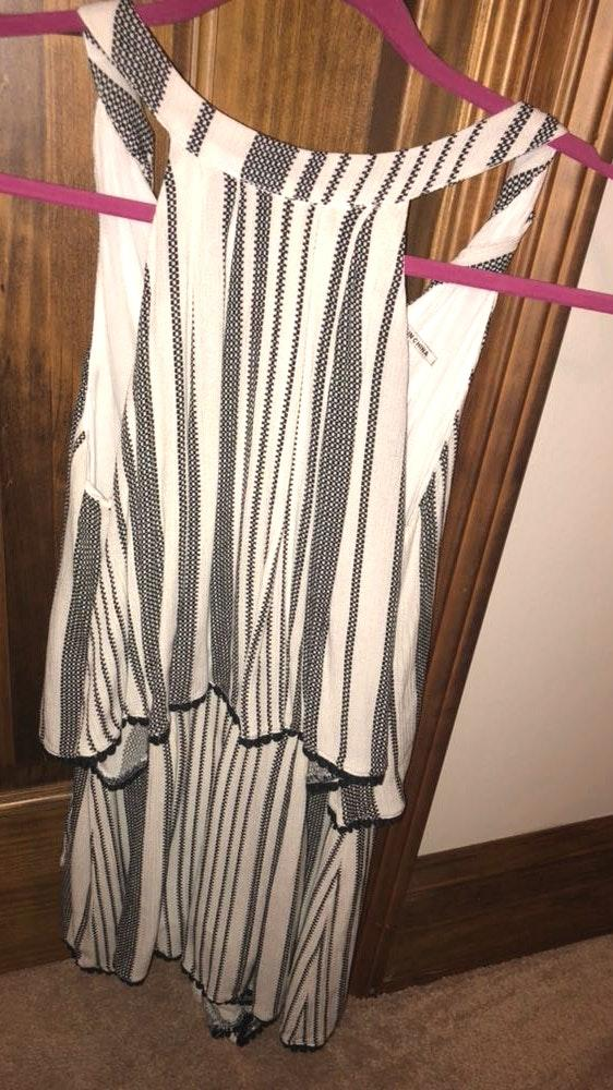 Blu Spero Striped Romper