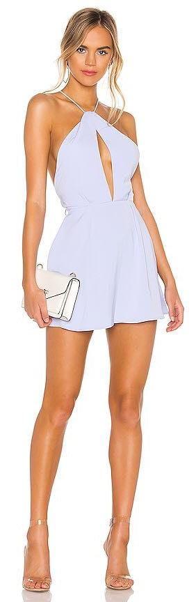 superdown Tiara Halter Dress