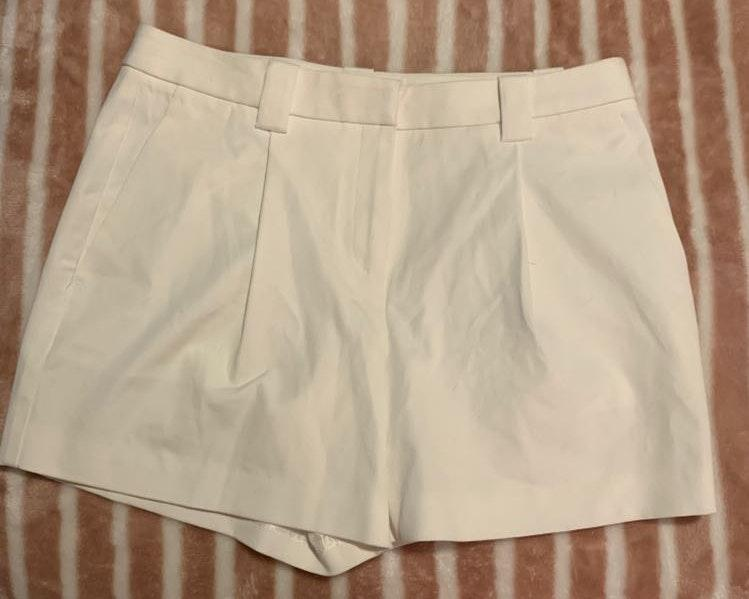 Lands' End White Shorts