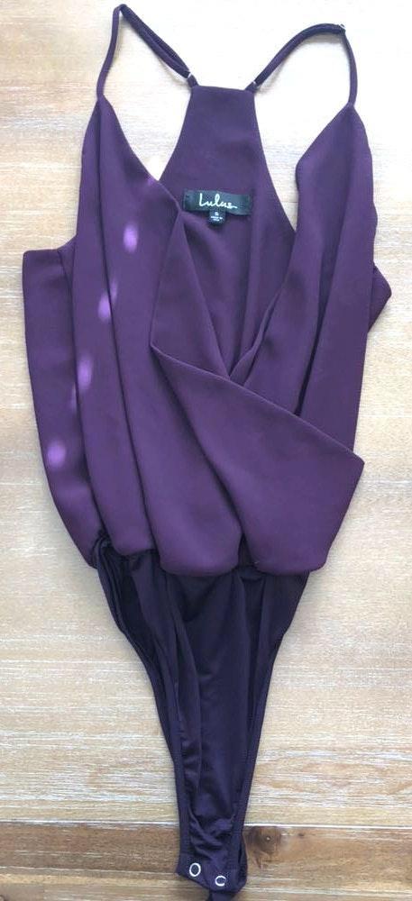 Lulus Purple Bodysuit