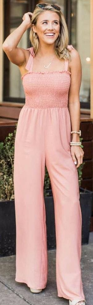 Pink Lily Jumpsuit