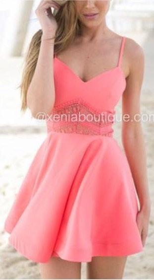 Xenia pink dress