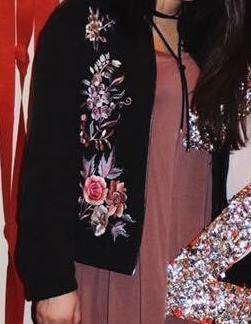 a.moss Floral Jacket