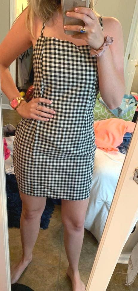 SheIn Gingham Mini Dress