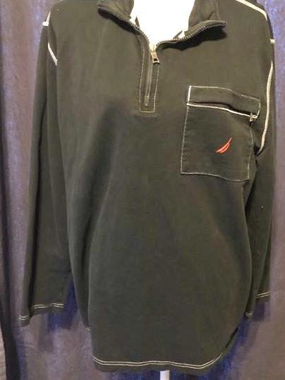 Nautica Men's Náutica pullover shirt half zip Sz XL