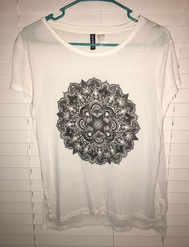Divided Graphic Tee