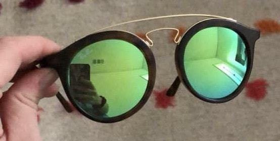 Ray-Ban Green Mirror Lens